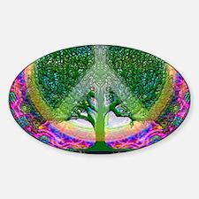 World Peace Symbol Decal