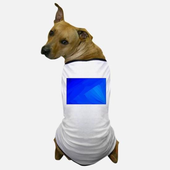 Blue Backdrop Dog T-Shirt