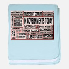 In Governments Today baby blanket