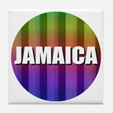 Cute Carribbean Tile Coaster