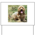 dogs laugh Yard Sign
