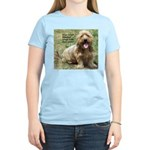 dogs laugh Women's Light T-Shirt