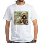 dogs laugh White T-Shirt