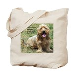 dogs laugh Tote Bag
