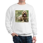 dogs laugh Sweatshirt