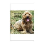 dogs laugh Mini Poster Print