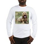 dogs laugh Long Sleeve T-Shirt