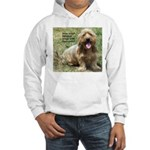 dogs laugh Hooded Sweatshirt