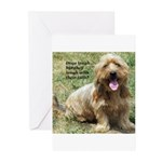 dogs laugh Greeting Cards (Pk of 20)