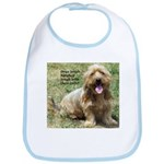 dogs laugh Bib