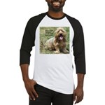 dogs laugh Baseball Jersey