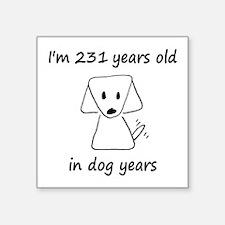 33 Dog Years 6-2 Sticker