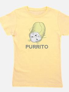 Purrito Girl's Tee
