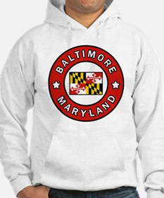 Cool Baltimore flag Hoodie