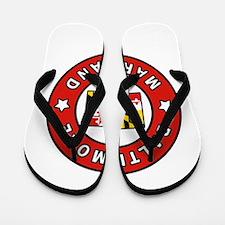 Baltimore Maryland Flip Flops