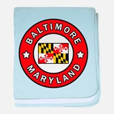 Baltimore Maryland baby blanket