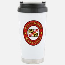 Baltimore Maryland Travel Mug