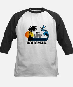 It's Better In The Bahamas Baseball Jersey