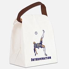 Determination (Soccer) Canvas Lunch Bag
