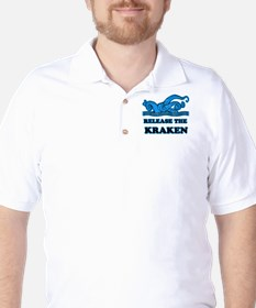 Release The Kraken Golf Shirt