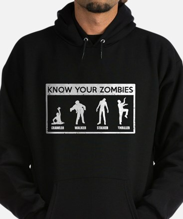 Know Your Zombies Hoodie (dark)