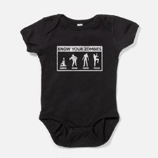 Know Your Zombies Baby Bodysuit