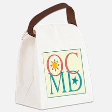 Ocean City, Maryland Canvas Lunch Bag