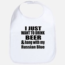 Hang With My Russian Blue Bib