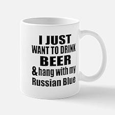 Hang With My Russian Blue Mug