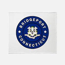 Bridgeport Connecticut Throw Blanket