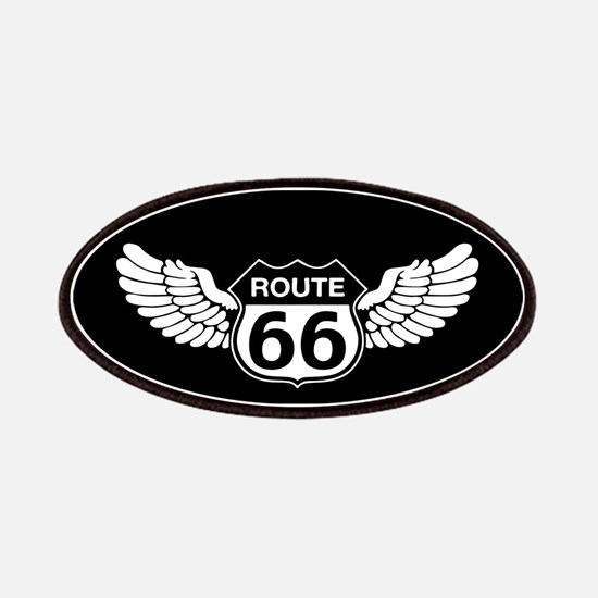 Winged Rte. 66 Patch