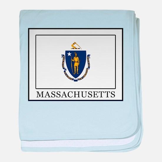 Massachusetts baby blanket