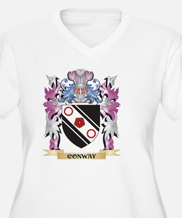 Conway Coat of Arms (Family Cres Plus Size T-Shirt