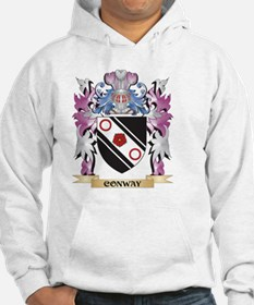 Conway Coat of Arms (Family Cres Hoodie