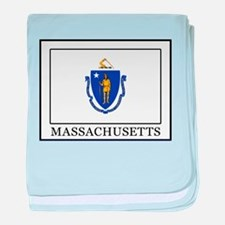Massachusetts baby blanket