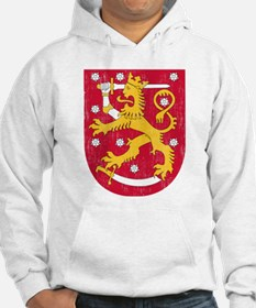 Coat Of Arms Of Finland Hoodie