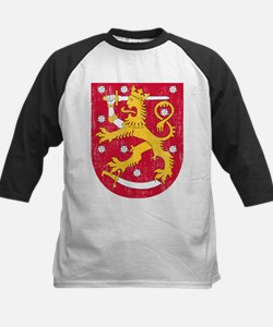 Coat Of Arms Of Finland Baseball Jersey
