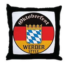 Werder Oktoberfest Throw Pillow