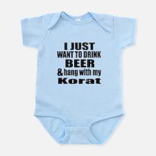 Hang With My Korat Infant Bodysuit