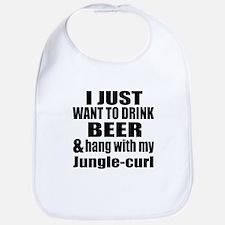 Hang With My Jungle-curl Bib