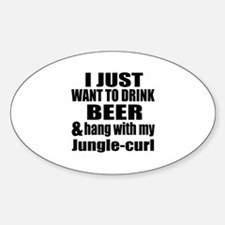 Hang With My Jungle-curl Decal