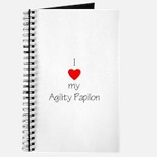 I love my Agility Papillon Journal
