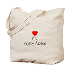 I love my Agility Papillon Tote Bag