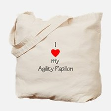 I love my Agility Papillon Tote Bag