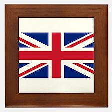 Union Jack Framed Tile