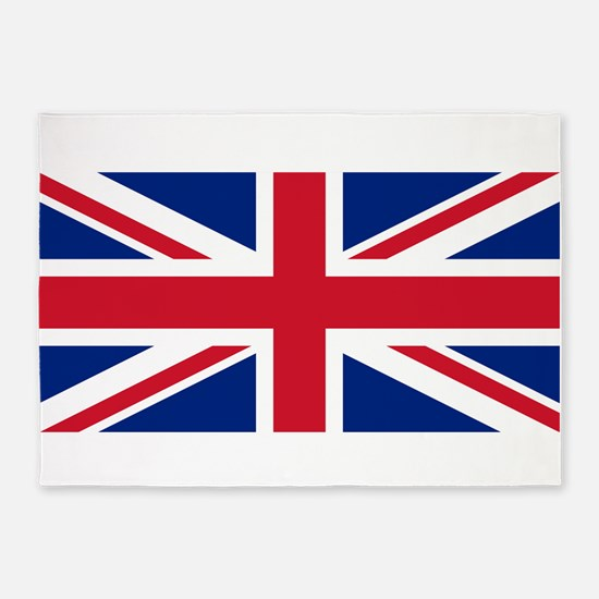 Union Jack 5'x7'Area Rug