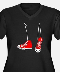 Sneakers Plus Size T-Shirt