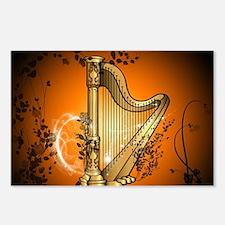 Golden harp Postcards (Package of 8)
