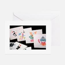 Rorshach Inkblot Test Greeting Cards