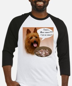 Aussie Terrier Turkey Baseball Jersey